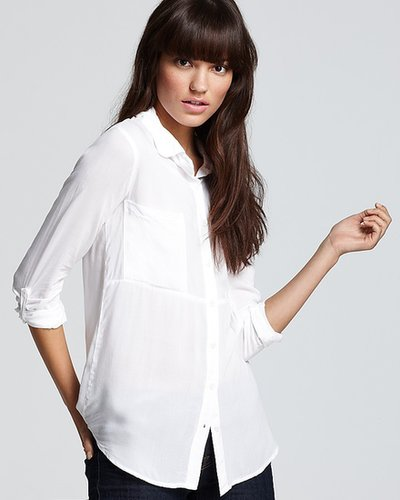 Splendid Shirt - Button Down Voile