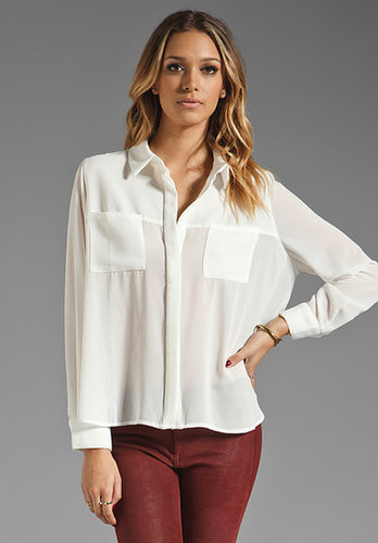 MINKPINK It's a Mans World Oversize Button Down Shirt