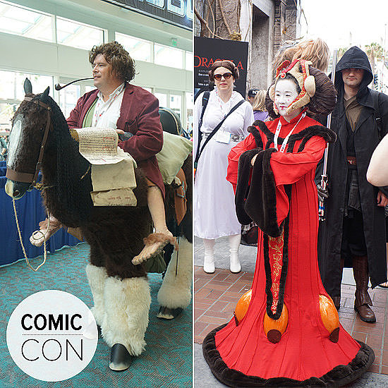 Creative Comic-Con Cosplay