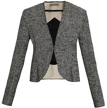 Balenciaga Tweed gomme jacket