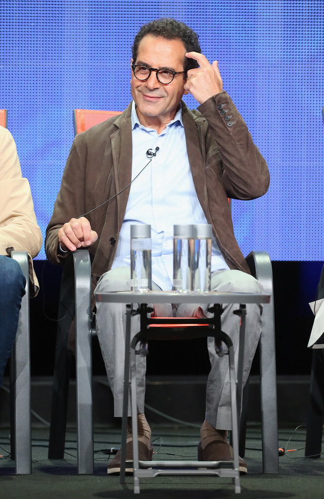 Tony Shalhoub spoke at the Summer TCA Press Tour for We Are Men.