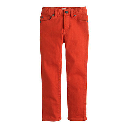 Boys' Slim Jean in Garment-Dyed Wash ($60)