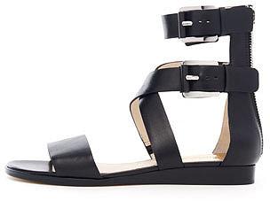 MICHAEL Michael Kors  Josephine Flat Leather Sandal