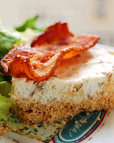 Would You Eat This Stilton and Bacon Cheesecake?