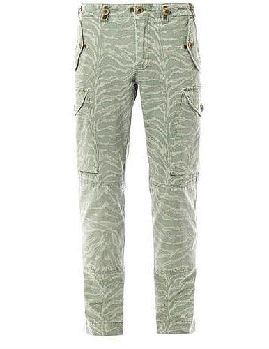 Michael Bastian Camo-print cargo trousers
