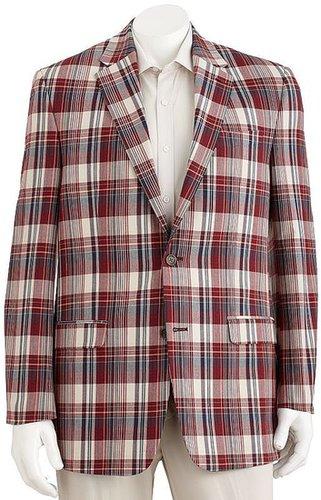 Chaps plaid blazer