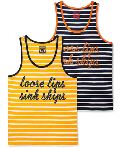 PRPGNDA Shirt, Discharge Striped Tank