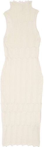 Alexander Wang Knitted cotton dress