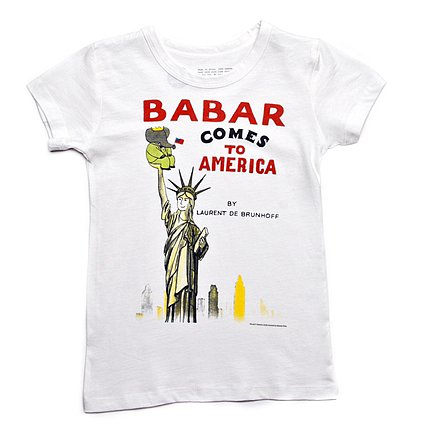 Babar Comes to America T-Shirt