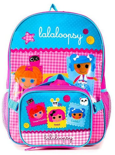 Lalaloopsy check backpack - kids