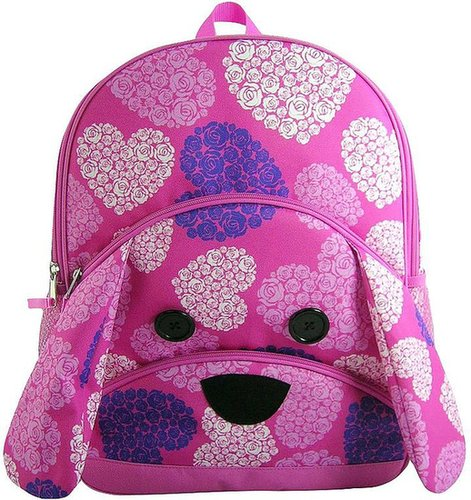 Dog floral backpack - kids