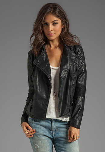 BLANKNYC Leather Biker Jacket