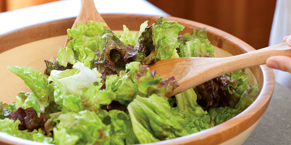 The Simplest Green Salad Ever