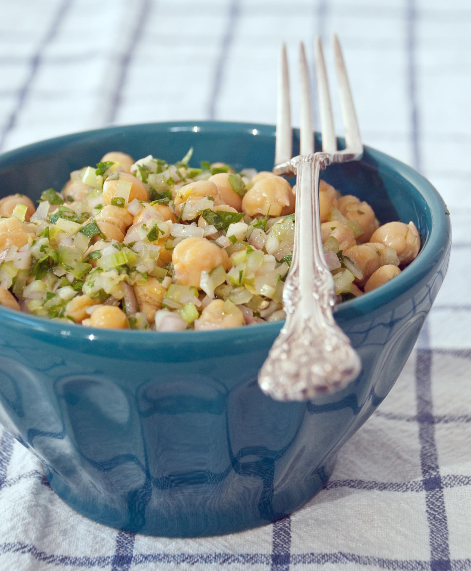 Marinated Chickpea Salad