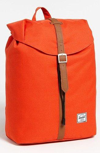 Herschel Supply Co. 'Post' Backpack Grey/ Neon Yellow