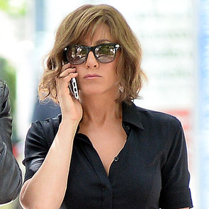 Jennifer Aniston on Set of Squirrels to the Nuts | Pictures