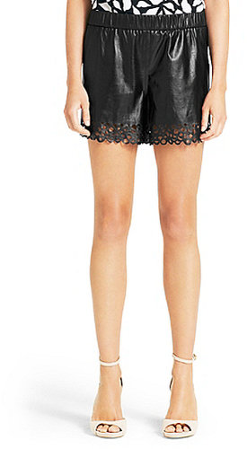 Andi Leather Short In Black