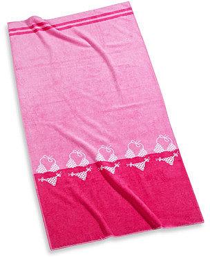 "Cabana Pink Bikini 30"" x 60"" Beach Towel"