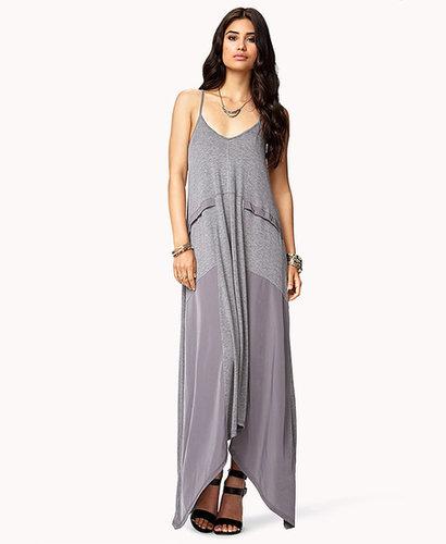 FOREVER 21 Paneled Maxi Dress