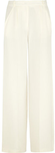 Joseph Washed-silk wide leg pants