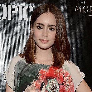 Lily Collins Hair | The Mortal Instruments Tour