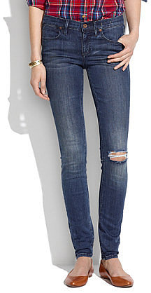 Skinny skinny jeans in blue hill wash