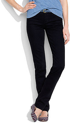 Rail straight jeans in black frost
