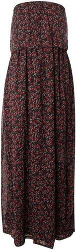 Sodamix Sodamix strapless maxi dress