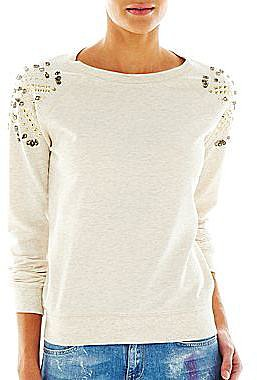 MNG by Mango® Embellished Sweatshirt