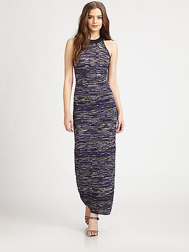 M Missoni Multi-Pattern Knit Maxi Dress