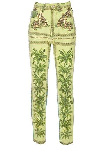 Gianni Versace Vintage printed trouser