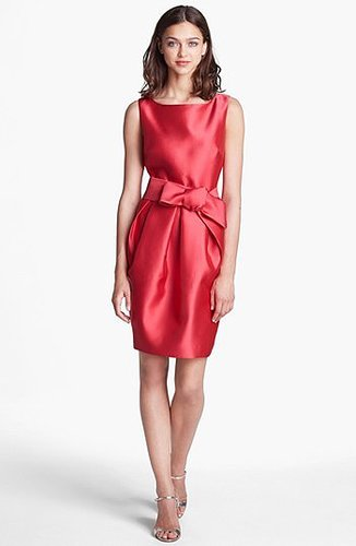 Eliza J Satin Sheath Dress