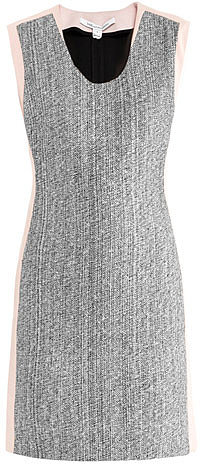 Diane Von Furstenberg Katherine tweed dress