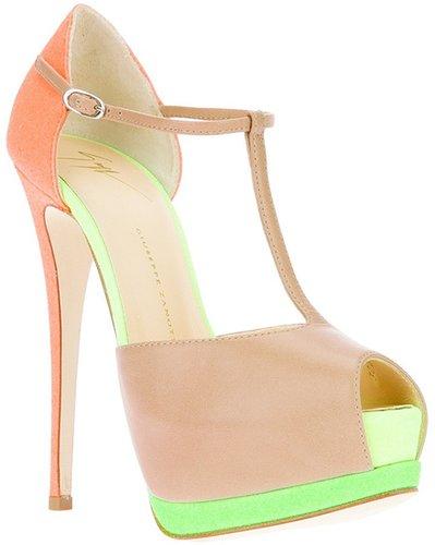 Giuseppe Zanotti Design t-bar platform sandal