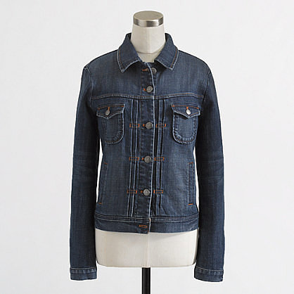 Factory stretch denim jacket