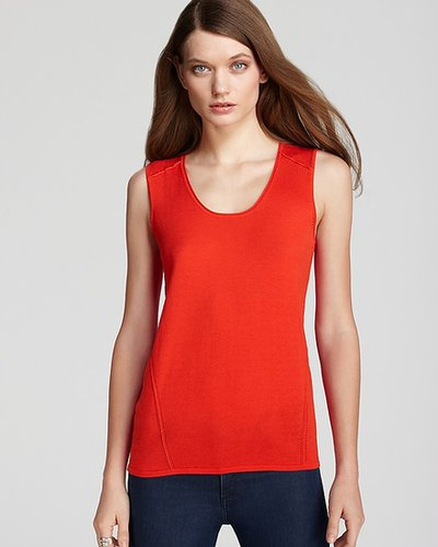 Gerard Darel Scoop Neck Shell