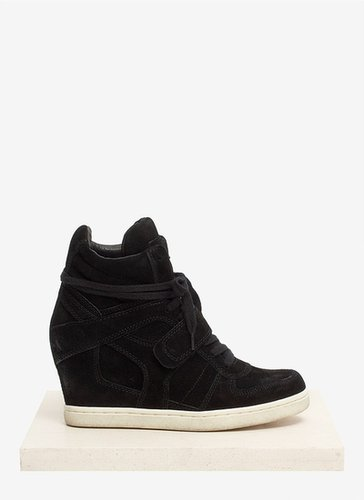 Ash 'Cool' suede wedge sneakers