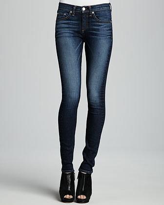 rag & bone/JEAN Cheshire High-Rise Skinny Jeans