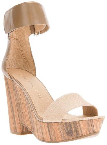 See By Chloé chunky heel sandal