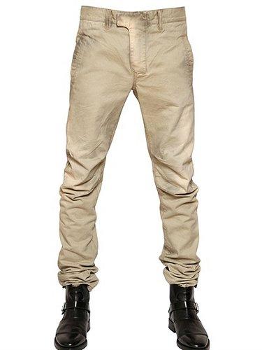 17cm Stone Washed Denim Jeans