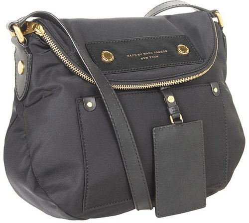 Marc by Marc Jacobs - Preppy Nylon Natasha (Black) - Bags and Luggage
