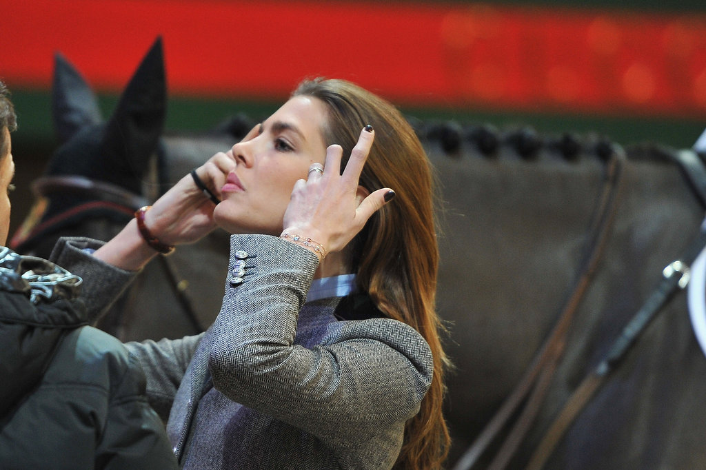 Charlotte attended the Gucci Paris Masters riding event in 2012.