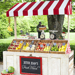 Fruit Stand Birthday Party For Kids