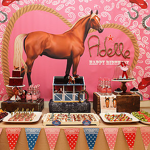 Cowgirl and Horse Birthday Party