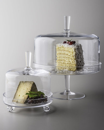 """Camilla"" Cake Dome & ""Heirloom"" Cheese Server"