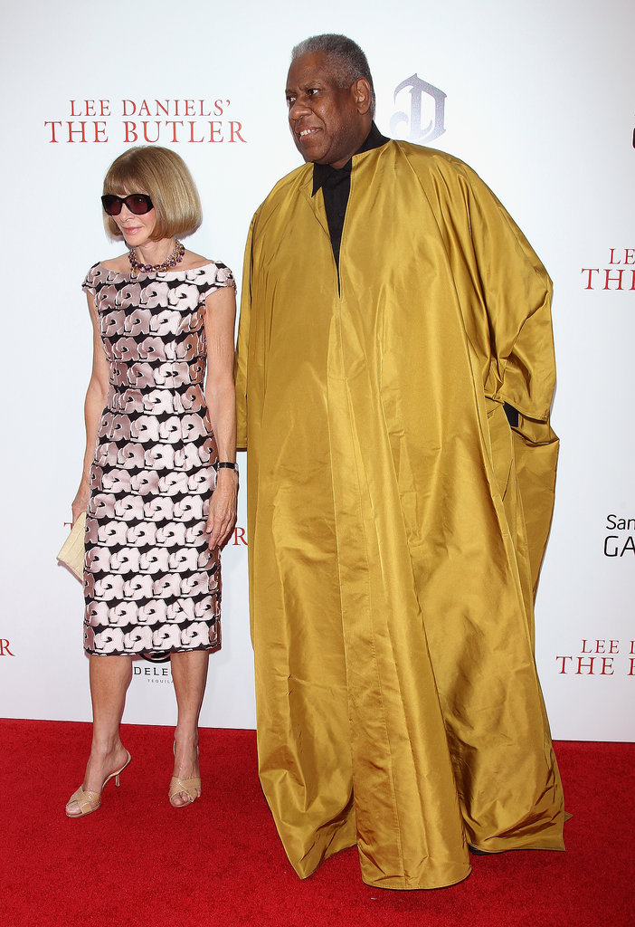 Anna Wintour and André Leon Talley walked the red carpet together.
