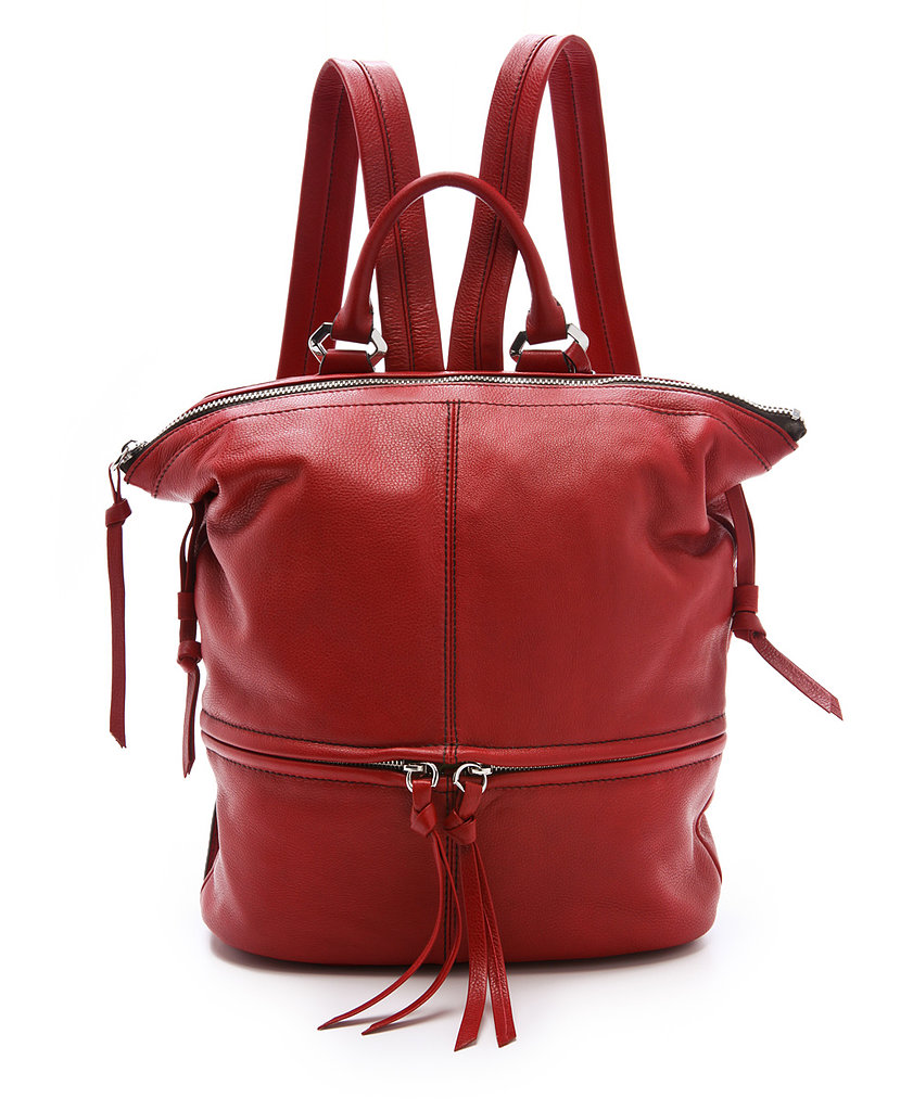 Ease into the backpack trend by looking for a familiar body shape, like this Oryany pick ($330).