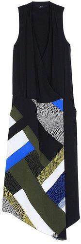 Nelio Asymmetrical Wrap Dress
