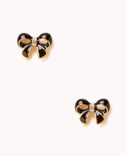 FOREVER 21 Lacquered Bow Studs