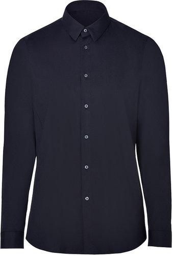 Jil Sander Midnight Blue Cotton-Blend Shirt